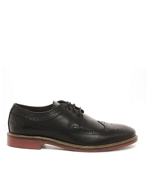 Image 4 ofBase London Barcelona Brogue Shoes