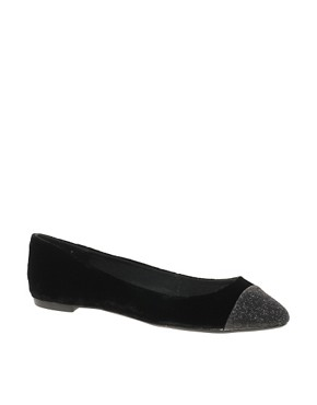 Image 1 ofCarvela Lila Flat Shoe With Toe Cap