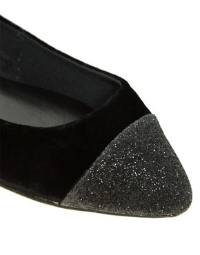 Image 2 ofCarvela Lila Flat Shoe With Toe Cap