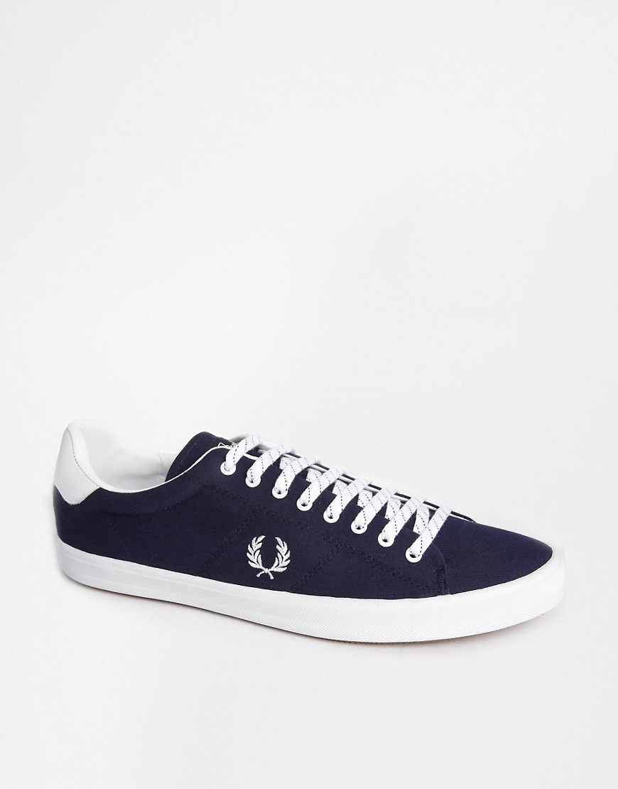Image 1 of Fred Perry Howells Twill Trainers