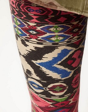Image 3 ofRiver Island Aztec Print Legging