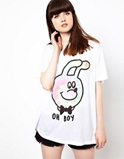 Lazy Oaf Oh Boy T-Shirt