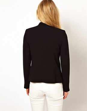 Image 2 ofMango Miranda Stand Collar Blazer