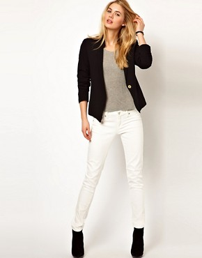 Image 4 ofMango Miranda Stand Collar Blazer