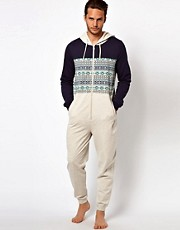 River Island Aztec Block Onesie