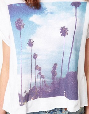 Image 3 of Wildfox White Label I Love Los Angeles Tee