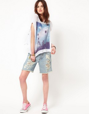 Image 4 of Wildfox White Label I Love Los Angeles Tee