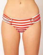 Seafolly Seaview Ruched Side Bikini Pant