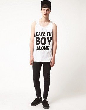Image 4 ofBOY London Leave The Boy Alone Vest