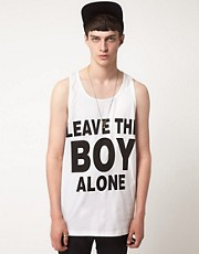 BOY London Leave The Boy Alone Vest