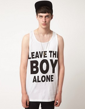 Image 1 ofBOY London Leave The Boy Alone Vest