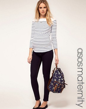 Image 1 of ASOS Maternity Ridley Supersoft Ultra Skinny Jean
