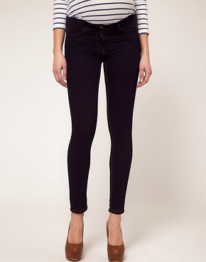 Image 4 of ASOS Maternity Ridley Supersoft Ultra Skinny Jean