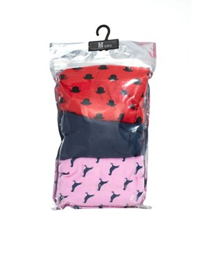 Image 4 ofRiver Island 3 Pack Bird And Hat Print Trunks