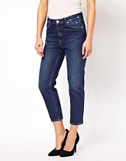 Won Hundred Jeans Natalie Cropped Boyfit Jeans