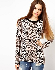 Unconditional Skinny Jumper with Contrast Neck