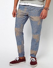 ASOS Slim Chino With Print