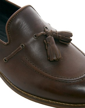 Image 2 ofH By Hudson Tiska Tassel Loafers