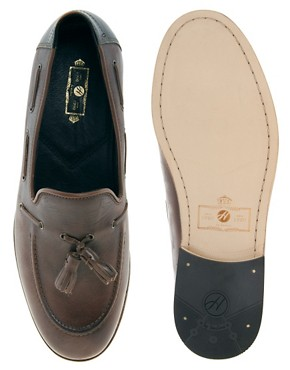 Image 3 ofH By Hudson Tiska Tassel Loafers