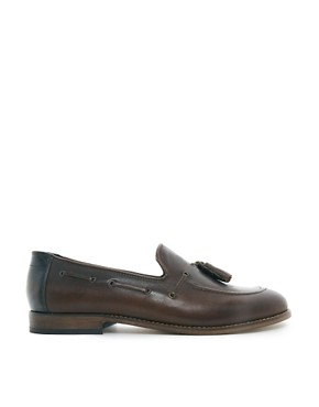 Image 4 ofH By Hudson Tiska Tassel Loafers