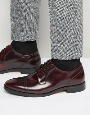 Base London XXI Oscar Leather Derby Shoes