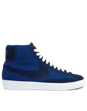 Image 4 ofNike Blazer Mid Woven Trainers