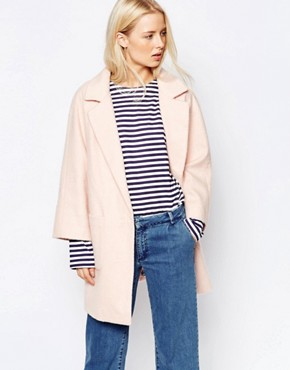Ganni Inglewood Pink Coat