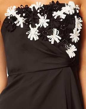 Image 3 ofCoast Rosicia Embellished Bandeau Dress