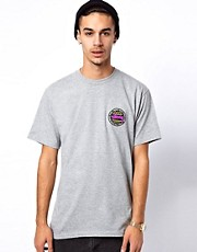 Stussy T-Shirt Tribal Dot Back Logo