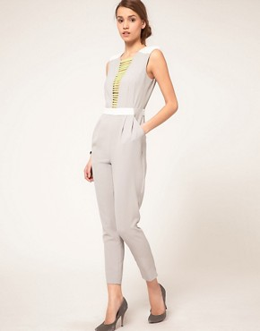 Image 4 ofASOS Jumpsuit With Neon Embellished