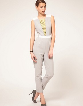 Image 1 ofASOS Jumpsuit With Neon Embellished
