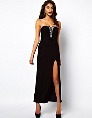 ASOS Maxi Dress With Embellishment