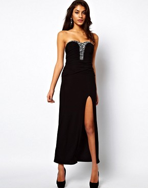 Image 1 ofASOS Maxi Dress With Embellishment