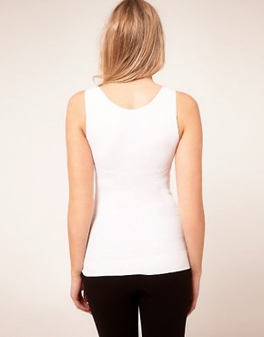 Image 2 ofASOS Maternity Exclusive Seamfree Vest with Support For The Perfect Bump