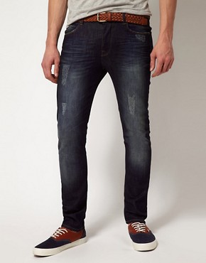 Image 1 ofASOS Skinny Blue Jean