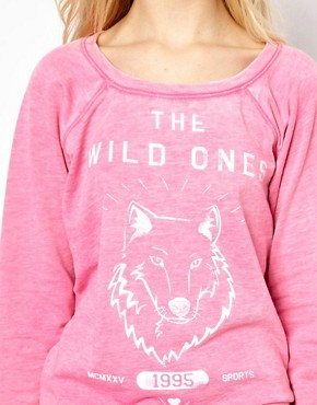 Image 3 ofRiver Island Wild Ones Sweat Top