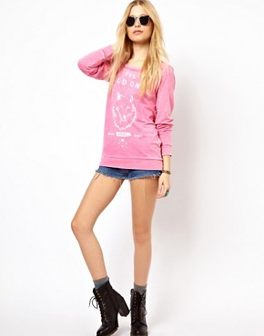 Image 4 of River Island Wild Ones Sweat Top
