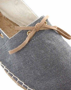 Image 2 ofASOS Espadrilles With Tie Front