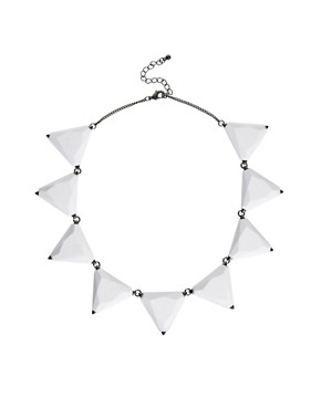 Image 2 ofASOS Triangle Collar Necklace