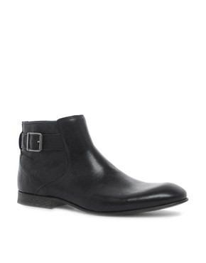 Image 1 ofASOS Chelsea Boots With Zip and Buckle
