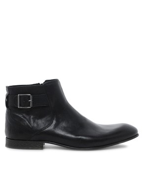 Image 4 ofASOS Chelsea Boots With Zip and Buckle