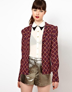Image 1 ofSister Jane Jacket in Geometric Print