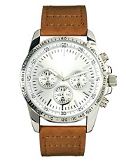 River Island Small 3 Dials Watch