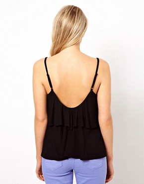 Image 2 ofASOS Cami with Frill V Back
