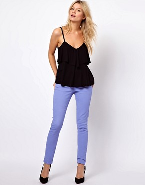 Image 4 ofASOS Cami with Frill V Back