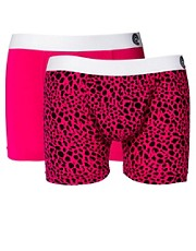 Golden Child Cheetah 2 Pack Trunks