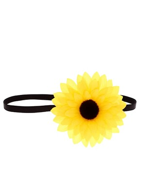 Image 2 ofASOS Sunflower Headband