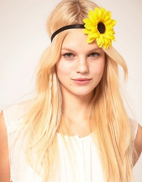 Image 1 ofASOS Sunflower Headband