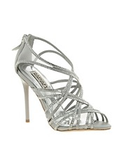 Badgley Mischka Gloria Embellished Heeled Sandals