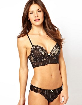 Image 4 ofElle Macpherson Intimates Sultry Dreams Plunge Boost Longline Bra
